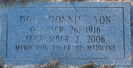 "YON, DON ""DONNIE"" - Wakulla County, Florida   DON ""DONNIE"" YON - Florida Gravestone Photos"