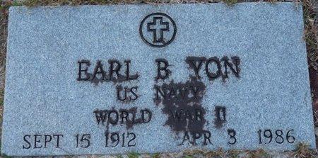YON (VETERAN WWII), EARL B (NEW) - Wakulla County, Florida | EARL B (NEW) YON (VETERAN WWII) - Florida Gravestone Photos
