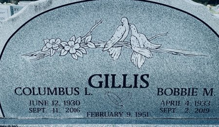 GILLIS, COLUMBUS LEE - Walton County, Florida | COLUMBUS LEE GILLIS - Florida Gravestone Photos