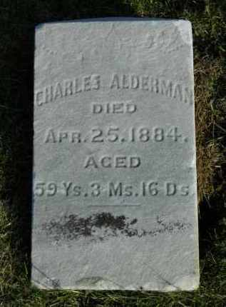 ALDERMAN, CHARLES - Boone County, Illinois   CHARLES ALDERMAN - Illinois Gravestone Photos
