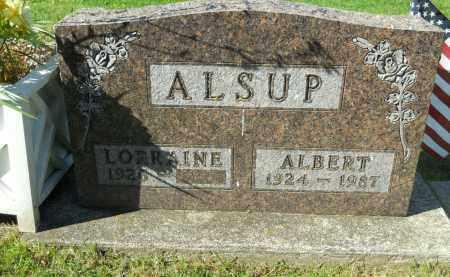 ALSUP, ALBERT - Boone County, Illinois | ALBERT ALSUP - Illinois Gravestone Photos