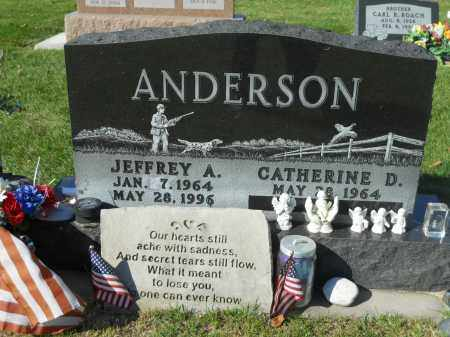 ANDERSON, CATHERINE D. - Boone County, Illinois | CATHERINE D. ANDERSON - Illinois Gravestone Photos