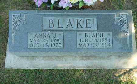 BLAKE, BLAINE - Boone County, Illinois | BLAINE BLAKE - Illinois Gravestone Photos