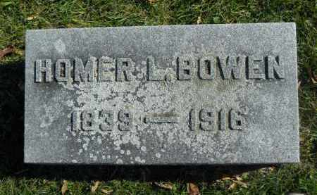 BOWEN, HOMER L. - Boone County, Illinois | HOMER L. BOWEN - Illinois Gravestone Photos