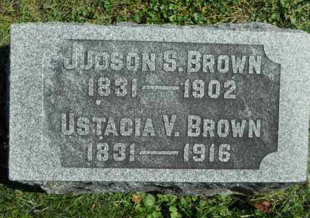 BROWN, JUDSON S. - Boone County, Illinois | JUDSON S. BROWN - Illinois Gravestone Photos