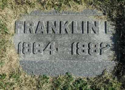 BURCH, FRANKLIN E. - Boone County, Illinois | FRANKLIN E. BURCH - Illinois Gravestone Photos