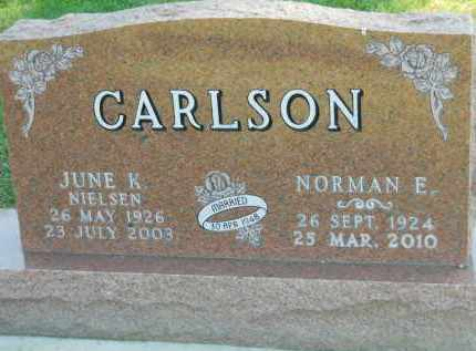 CARLSON, JUNE K. - Boone County, Illinois | JUNE K. CARLSON - Illinois Gravestone Photos