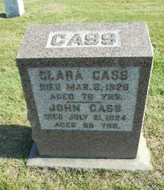 CASS, JOHN - Boone County, Illinois | JOHN CASS - Illinois Gravestone Photos