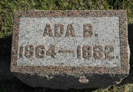 CHAMBERLAIN, ADA B. - Boone County, Illinois | ADA B. CHAMBERLAIN - Illinois Gravestone Photos