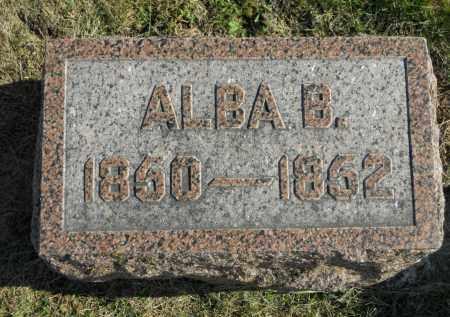 CHAMBERLAIN, ALBA B. - Boone County, Illinois | ALBA B. CHAMBERLAIN - Illinois Gravestone Photos