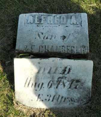 CHAMBERLAIN, ALFRED A. - Boone County, Illinois | ALFRED A. CHAMBERLAIN - Illinois Gravestone Photos