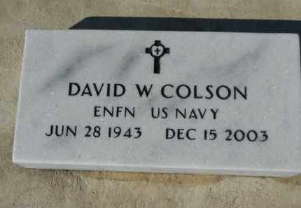 COLSON, DAVID W. - Boone County, Illinois | DAVID W. COLSON - Illinois Gravestone Photos