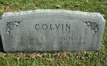 COLVIN, ALFRED A. - Boone County, Illinois | ALFRED A. COLVIN - Illinois Gravestone Photos