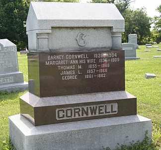 DAY CORNWELL, MARGARET - Boone County, Illinois | MARGARET DAY CORNWELL - Illinois Gravestone Photos