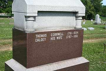 CORNWELL, THOMAS - Boone County, Illinois | THOMAS CORNWELL - Illinois Gravestone Photos