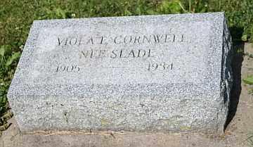 CORNWELL, VIOLA E - Boone County, Illinois | VIOLA E CORNWELL - Illinois Gravestone Photos