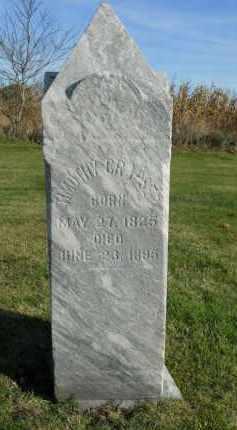 CRAPSER, TIMOTHY - Boone County, Illinois | TIMOTHY CRAPSER - Illinois Gravestone Photos