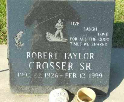 CROSSER, ROBERT TAYLOR SR. - Boone County, Illinois | ROBERT TAYLOR SR. CROSSER - Illinois Gravestone Photos