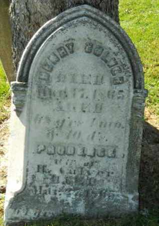 CULVER, PRUDENCE - Boone County, Illinois | PRUDENCE CULVER - Illinois Gravestone Photos