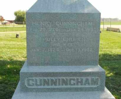 CUNNINGHAM, POLLY - Boone County, Illinois   POLLY CUNNINGHAM - Illinois Gravestone Photos
