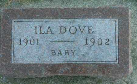 DOVE, ILA - Boone County, Illinois   ILA DOVE - Illinois Gravestone Photos