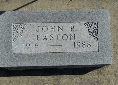 EASTON, JOHN R. - Boone County, Illinois   JOHN R. EASTON - Illinois Gravestone Photos