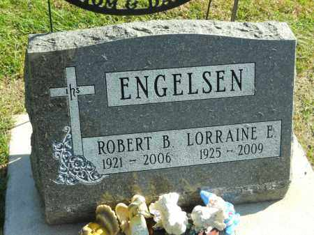 ENGELSEN, LORRAINE E. - Boone County, Illinois | LORRAINE E. ENGELSEN - Illinois Gravestone Photos