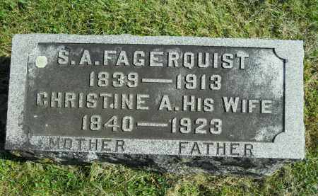 FAGERQUIST, CHRISTINE A. - Boone County, Illinois | CHRISTINE A. FAGERQUIST - Illinois Gravestone Photos