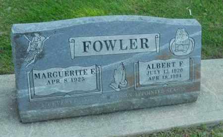 FOWLER, MARGUERITE E. - Boone County, Illinois | MARGUERITE E. FOWLER - Illinois Gravestone Photos