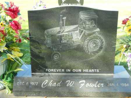 FOWLER, CHAD W. - Boone County, Illinois | CHAD W. FOWLER - Illinois Gravestone Photos