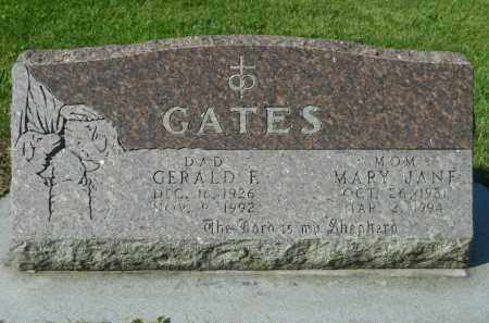 GATES, GERALD F. - Boone County, Illinois | GERALD F. GATES - Illinois Gravestone Photos