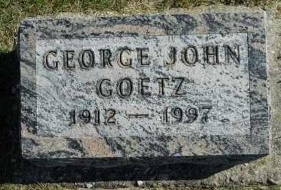 GOETZ, GEORGE JOHN - Boone County, Illinois | GEORGE JOHN GOETZ - Illinois Gravestone Photos