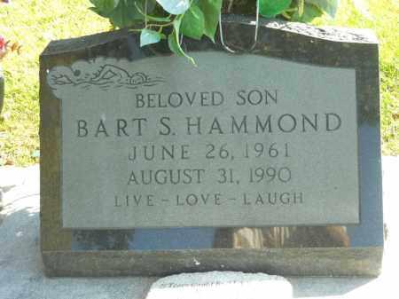 HAMMOND, BART S. - Boone County, Illinois   BART S. HAMMOND - Illinois Gravestone Photos