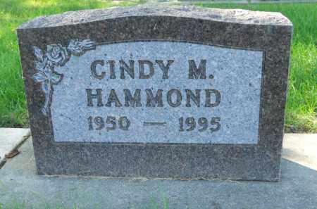 HAMMOND, CINDY M. - Boone County, Illinois   CINDY M. HAMMOND - Illinois Gravestone Photos