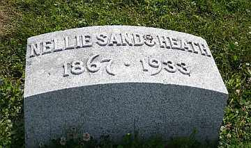 SANDS HEATH, NELLIE - Boone County, Illinois | NELLIE SANDS HEATH - Illinois Gravestone Photos