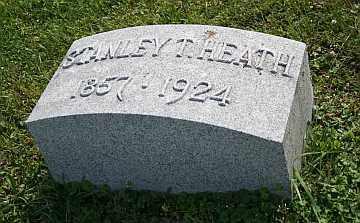 HEATH, SRANLEY T - Boone County, Illinois | SRANLEY T HEATH - Illinois Gravestone Photos
