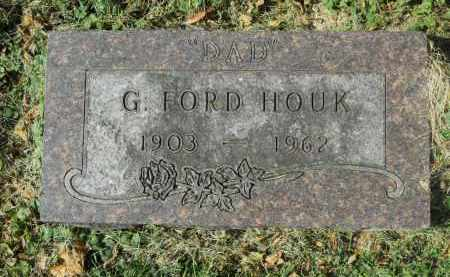 HOUK, G. FORD - Boone County, Illinois | G. FORD HOUK - Illinois Gravestone Photos