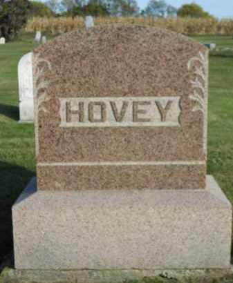 HOVEY, FAMILY STONE - Boone County, Illinois   FAMILY STONE HOVEY - Illinois Gravestone Photos