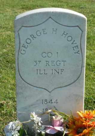 HOVEY, GEORGE - Boone County, Illinois | GEORGE HOVEY - Illinois Gravestone Photos