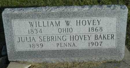 BAKER HOVEY, JULIA S. - Boone County, Illinois | JULIA S. BAKER HOVEY - Illinois Gravestone Photos