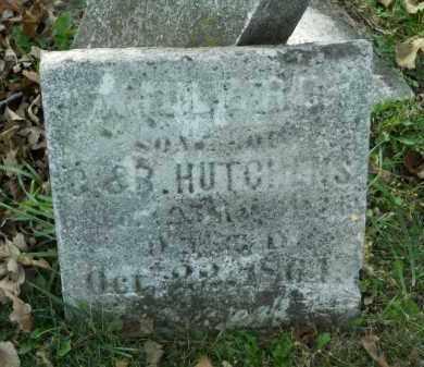 HUTCHINS, WILLARD - Boone County, Illinois   WILLARD HUTCHINS - Illinois Gravestone Photos
