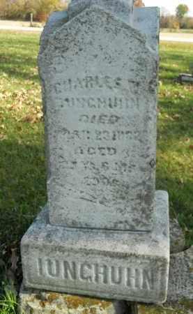 IUNGHUHN, CHARLES W. - Boone County, Illinois   CHARLES W. IUNGHUHN - Illinois Gravestone Photos