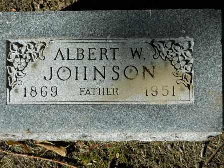 JOHNSON, ALBERT W. - Boone County, Illinois | ALBERT W. JOHNSON - Illinois Gravestone Photos