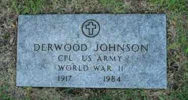 JOHNSON, DERWOOD - Boone County, Illinois | DERWOOD JOHNSON - Illinois Gravestone Photos