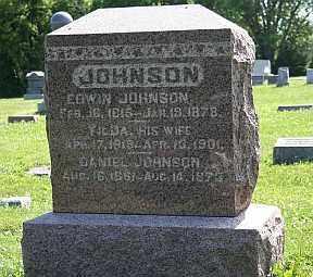 JOHNSON, EDWIN - Boone County, Illinois | EDWIN JOHNSON - Illinois Gravestone Photos