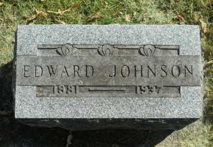JOHNSON, EDWARD - Boone County, Illinois | EDWARD JOHNSON - Illinois Gravestone Photos