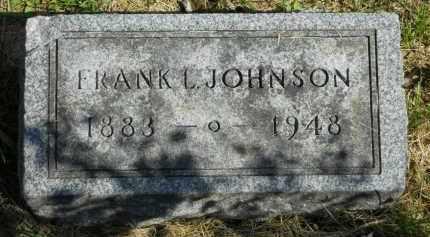 JOHNSON, FRANK L. - Boone County, Illinois | FRANK L. JOHNSON - Illinois Gravestone Photos