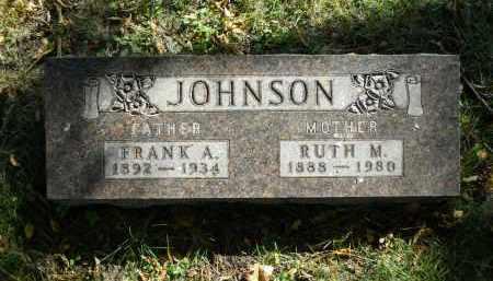 JOHNSON, FRANK A. - Boone County, Illinois | FRANK A. JOHNSON - Illinois Gravestone Photos