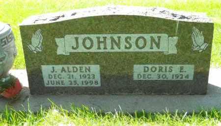 JOHNSON, J. ALDEN - Boone County, Illinois | J. ALDEN JOHNSON - Illinois Gravestone Photos