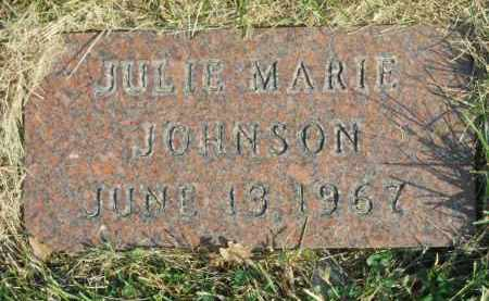 JOHNSON, JULIE MARIE - Boone County, Illinois | JULIE MARIE JOHNSON - Illinois Gravestone Photos